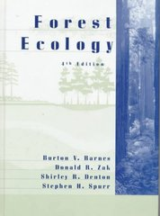 Forest Ecology 4th Edition 9780471308225 0471308226