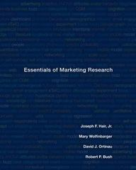Essentials of Marketing Research 1st edition 9780073381022 0073381020