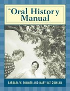 The Oral History Manual 0 9780759101012 0759101019