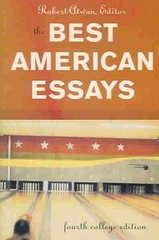 The Best American Essays 4th edition 9780618333707 0618333703