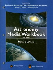 Astronomy Media Workbook 5th edition 9780805395938 0805395938