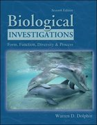 Biological Investigations 7th edition 9780072552850 0072552859