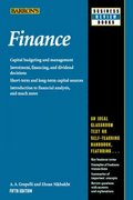 Finance 5th Edition 9780764134203 0764134205