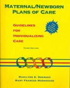 Maternal/Newborn Plans of Care 3rd edition 9780803603202 0803603207