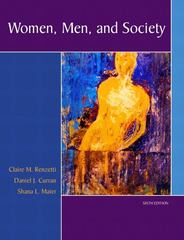 Women, Men, and Society 6th edition 9780205459599 0205459595