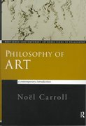 Philosophy of Art 1st edition 9780415159647 0415159644