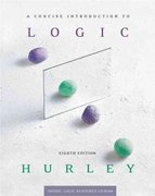 A Concise Introduction to Logic (Book & CD-ROM) 8th edition 9780534584825 0534584829