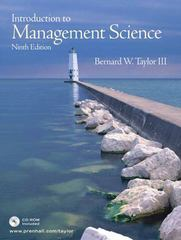 Introduction to Management Science 9th edition 9780131961333 0131961330