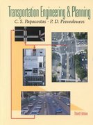 Transportation Engineering and Planning 3rd edition 9780130814197 0130814199
