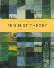 Feminist Theory: A Reader 2nd edition 9780072826722 007282672X