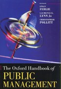 The Oxford Handbook of Public Management 0 9780199226443 019922644X