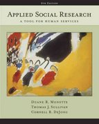 Applied Social Research 6th Edition 9780534628581 0534628583
