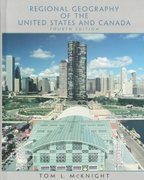 Regional Geography of the United States and Canada 4th Edition 9780131014732 0131014730