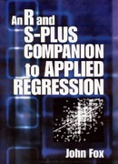 An R and S-Plus Companion to Applied Regression 1st edition 9780761922803 0761922806