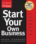 Start Your Own Business 4th Edition 9781599180816 1599180812