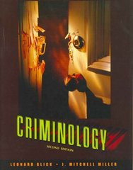 Criminology 2nd edition 9780205536931 020553693X