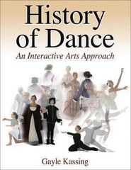 History of Dance 1st Edition 9780736060356 0736060359