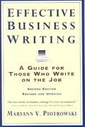 Effective Business Writing 2nd Edition 9780062733818 0062733818