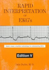 Rapid Interpretation of EKG's 5th Edition 9780912912028 0912912022