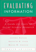 Evaluating Information 4th edition 9780070343092 0070343098