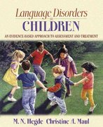 Language Disorders in Children 1st Edition 9780205435425 0205435424