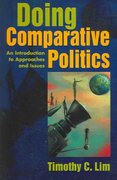 Doing Comparative Politics 1st Edition 9781588263452 1588263452