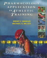 Pharmacology Application in Athletic Training 1st edition 9780803620278 0803620276