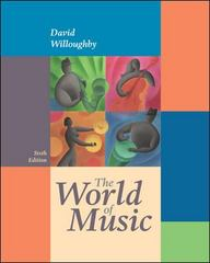 The World of Music 6th edition 9780073255071 0073255076
