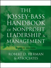 The Jossey-Bass Handbook of Nonprofit Leadership and Management 2nd edition 9780787969950 0787969958