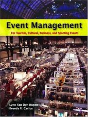 Event Management 1st Edition 9780131149380 0131149385