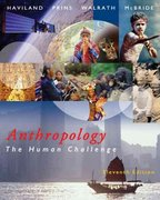 Anthropology 11th edition 9780534623616 0534623611