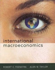 International Macroeconomics 1st edition 9781429206914 1429206918