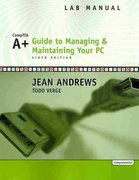 Lab Manual for Andrews' A+ Guide to Managing and Maintaining Your PC, Comprehensive, 6th 6th edition 9780619217631 0619217634