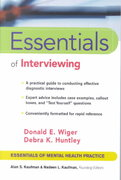 Essentials of Interviewing 1st edition 9780471002376 0471002372