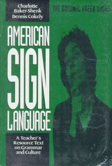 American Sign Language Green Books 0 9780930323844 093032384X