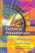 Pocket Guide to Technical Presentations and Professional Speaking 1st Edition 9780131529625 0131529625