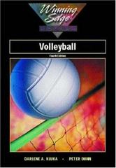 Volleyball, Winning Edge Series 4th Edition 9780072300307 0072300302