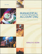 Managerial Accounting 6th edition 9780072936933 0072936932