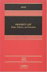 Property Law 4th edition 9780735555471 0735555478