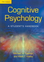 Cognitive Psychology: A Student's Handbook 5th edition 9781841693590 1841693596