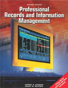 Professional Records And Information Management Student Edition with CD-ROM 2nd edition 9780078227790 0078227798