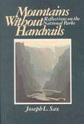 Mountains Without Handrails 1st Edition 9780472063246 0472063243