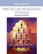 Industrial and Organizational Psychology 4th edition 9780471690993 0471690996