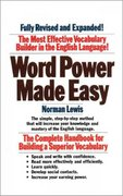 Word Power Made Easy 1st Edition 9780671741907 067174190X