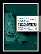 College Algebra with Trigonometry 8th edition 9780073312644 0073312649