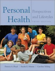 Personal Health 3rd edition 9780534581084 0534581080