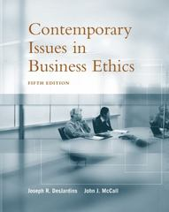 Contemporary Issues in Business Ethics 5th edition 9780534584641 0534584640