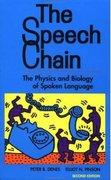 The Speech Chain 2nd edition 9780716723448 0716723441