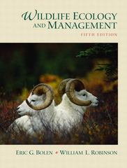 Wildlife Ecology and Management 5th Edition 9780130662507 013066250X