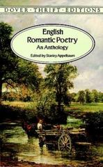English Romantic Poetry 1st Edition 9780486292823 0486292827
